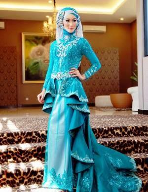 20 Desain Model Baju Muslim Kebaya Modern Terbaik