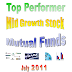 Top Performer Mid Cap Growth Stock Mutual Funds July 2011