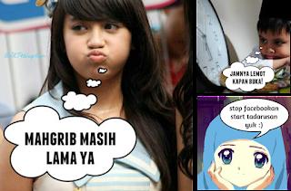 Kumpulan Dp BBM Meme Lucu Sahur Buka Puasa Ramadan Dp Gambar Bergerak