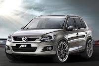 2013 Volkswagen Passat CC Volkswagen Tiguan Facelift from ABT Front Angle