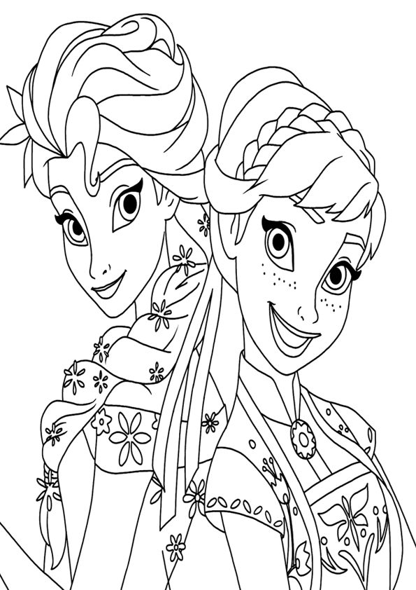 frozen 2 fever coloring pages - photo#21