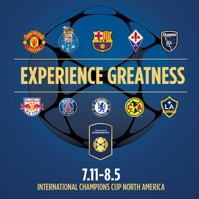 Jadual dan Keputusan International Champions Cup 2015 Manchester United
