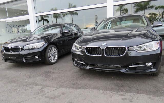 BMW Serie 1 e BMW Série 3 2016 - Preços