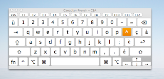how to write french accents on mac