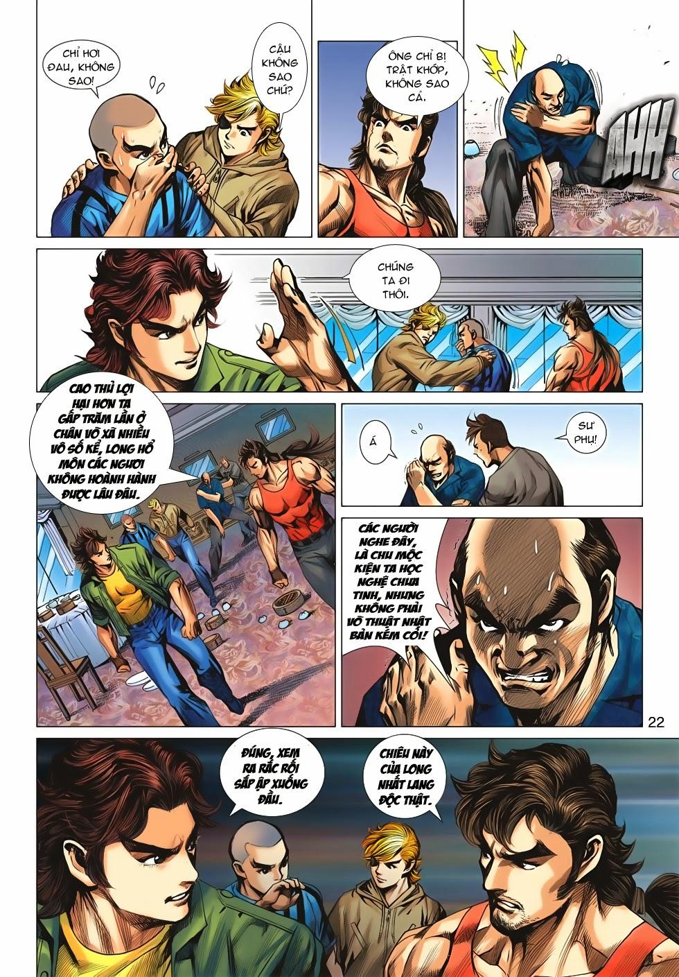 Tân Tác Long Hổ Môn chap 659 - Trang 22