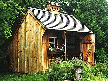 turning a shed into living space