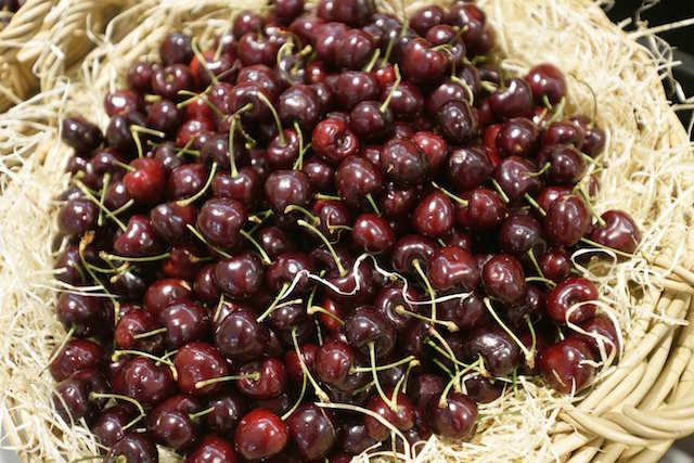 Oh joy its cherry season!