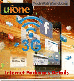 ufone 3g packages details