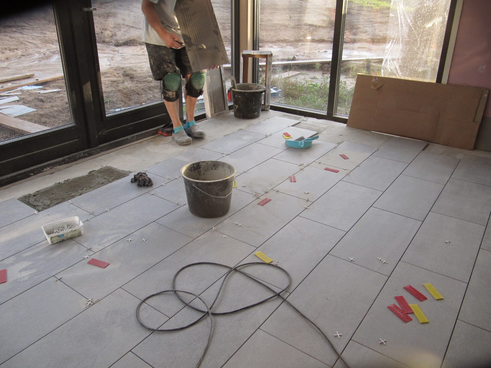 Cement Voegen Badkamer : Van kavel naar huis