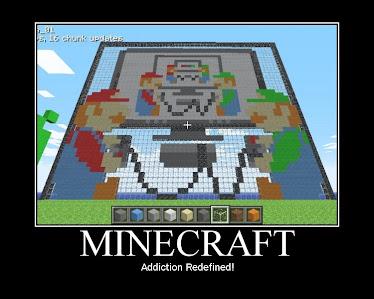 Minecraft mario building