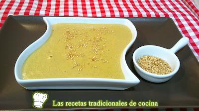 Crema de champiñones receta fácil y rápida