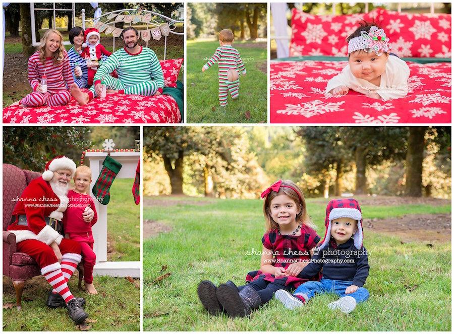 eugene springfield oregon photographer baby family child santa