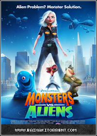 Capa Baixar Série Monsters vs Aliens 1ª Temporada Episódio 06   HDTV   Torrent Baixaki Download