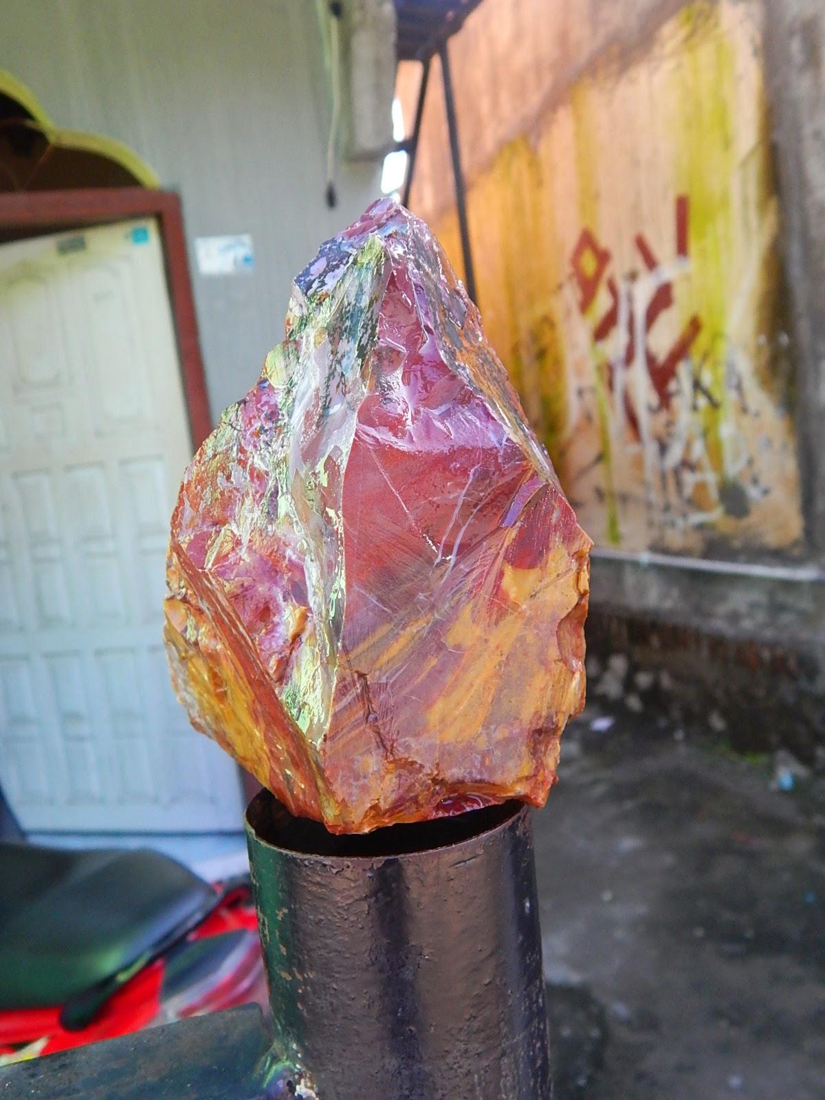 Hot Bongkahan Dendrite Opal Panca Warna Pecah Seribu