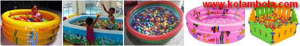 Jual bola plastik mandi bola dan kolam renang harga murah