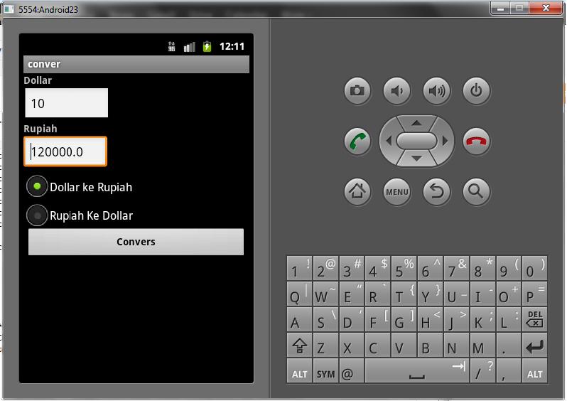 Kali ini kita akan membuat aplikasi android sederhana yaitu aplikasi ...