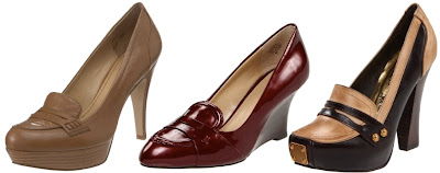 Patent Leather Wedge Shoes