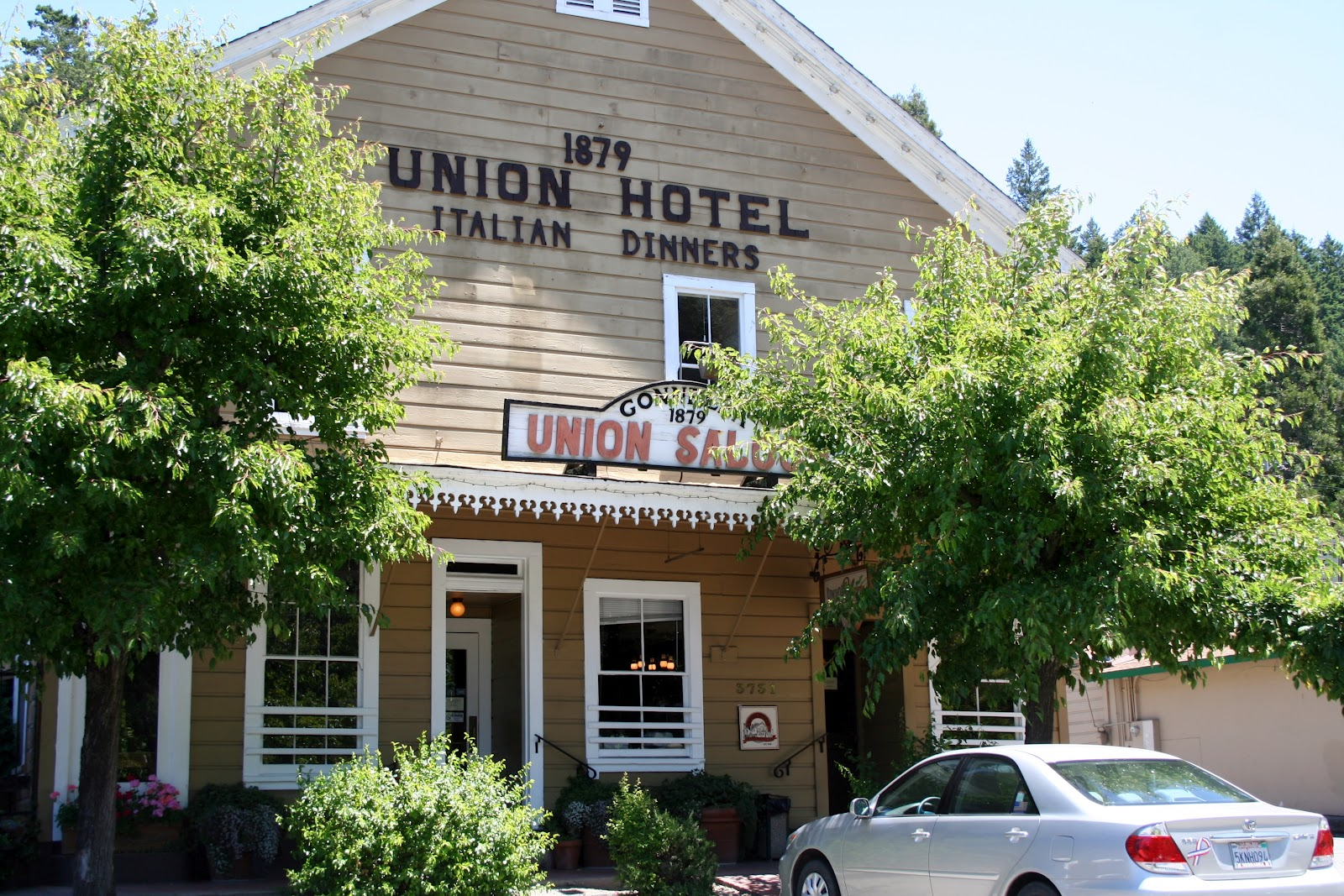Union Hotel Restaurant And Cafe Occidental Ca