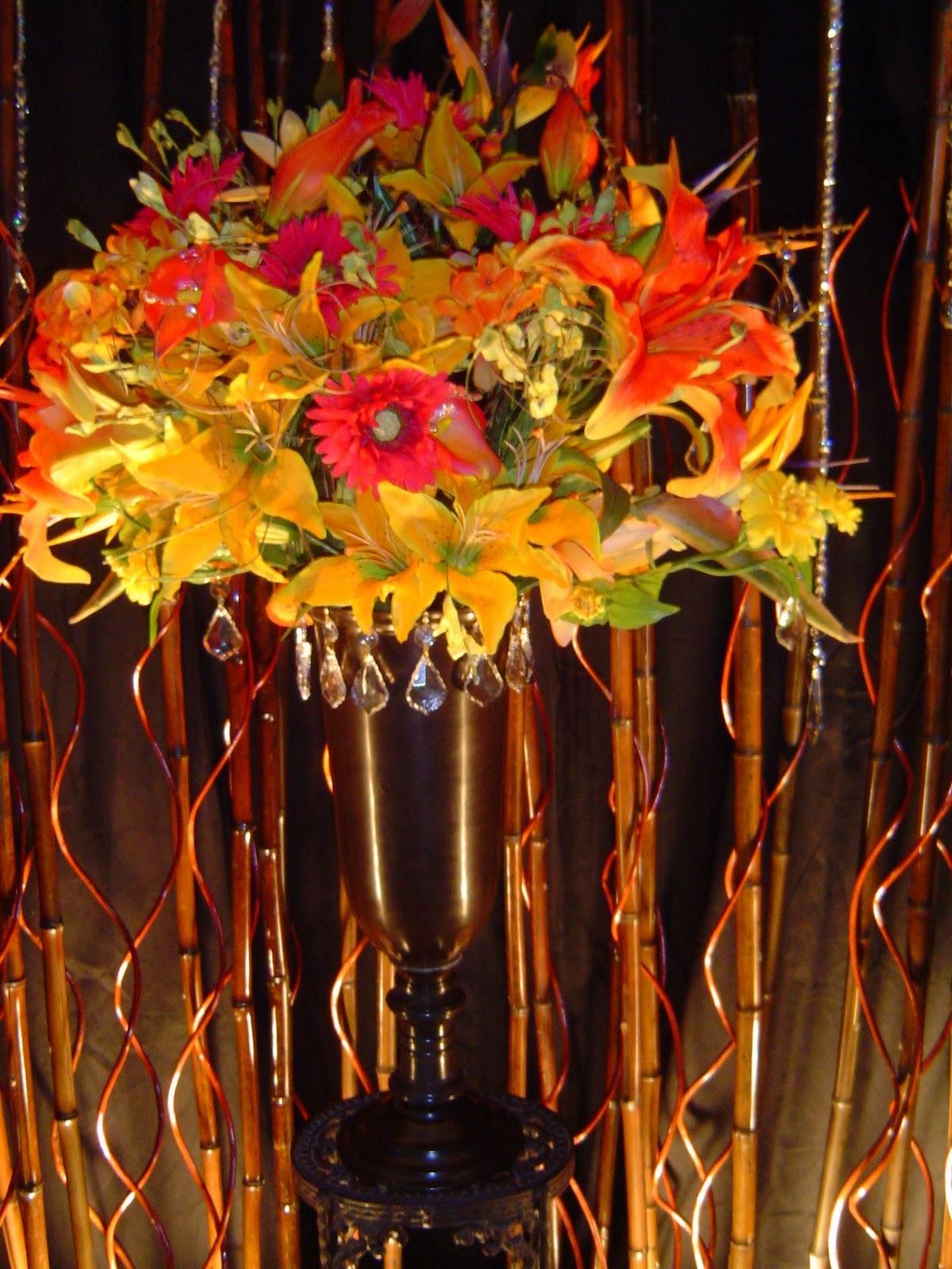 Intimate Wedding Showcase Custom Silk Floral Arrangements