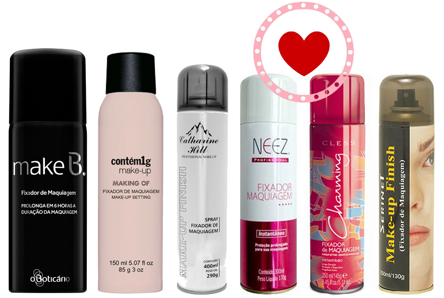 Dica de Maquiagem: Spray Fixador de Make-Up