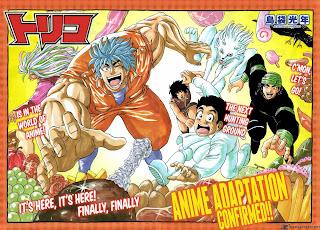 El anime de Toriko finalizará en marzo de 2014 Toriko+1