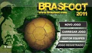Brasfoot 2011 – Seja um técnico de Futebol