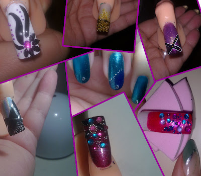 tutorial nail art caviale04
