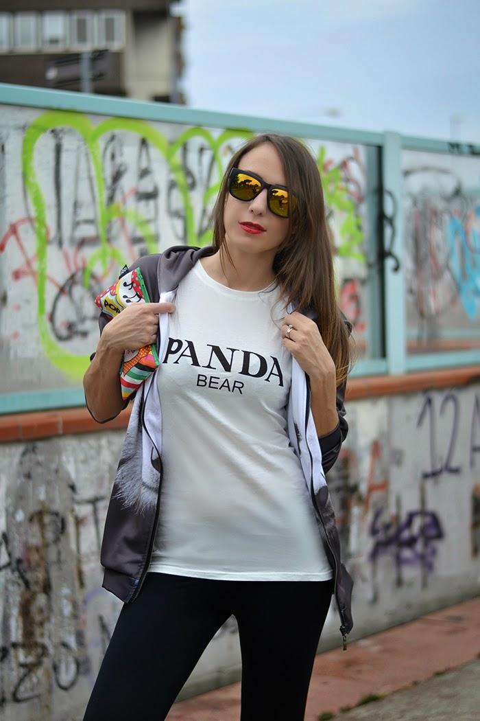 panda bear style moi tank