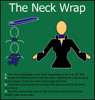 neckwrapscarf Fashion Friday: Ways to Wear Scarves