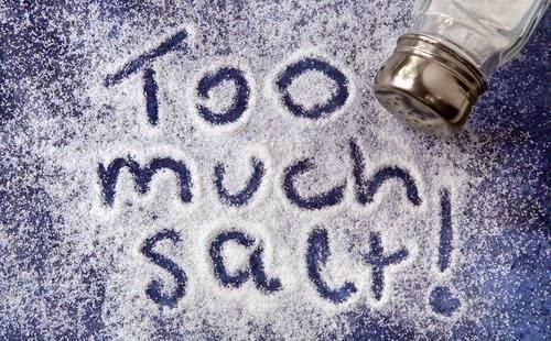 Makanan yang mengandung natrium sodium tinggi