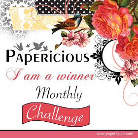 Papericious january challenge winner