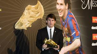 Top Skor Lionel Messi 2012