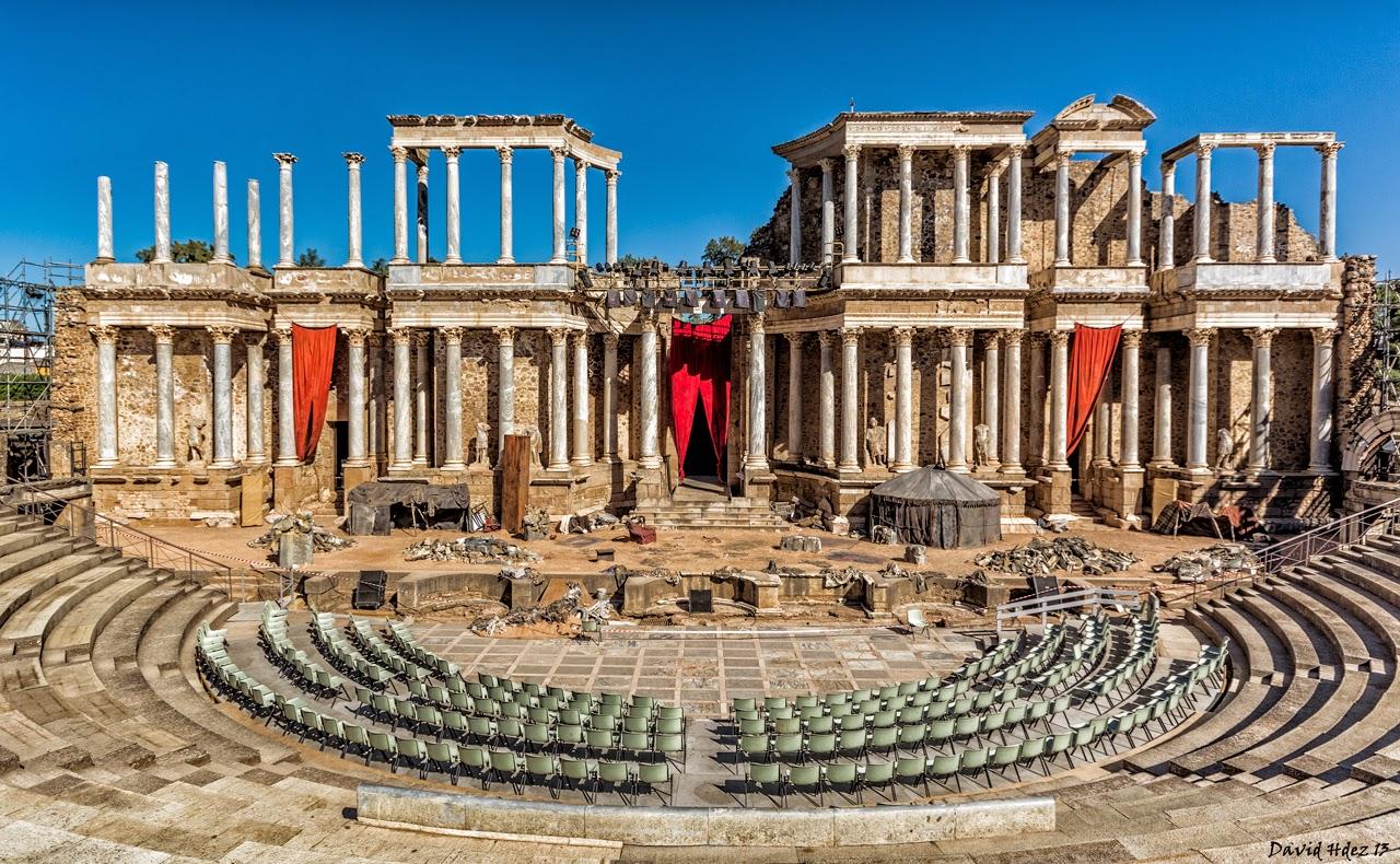 Boda Teatro Romano Merida : Formas de entretenimiento viajando en el tiempo
