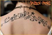 tatuajes de letras letras corridas tattoo