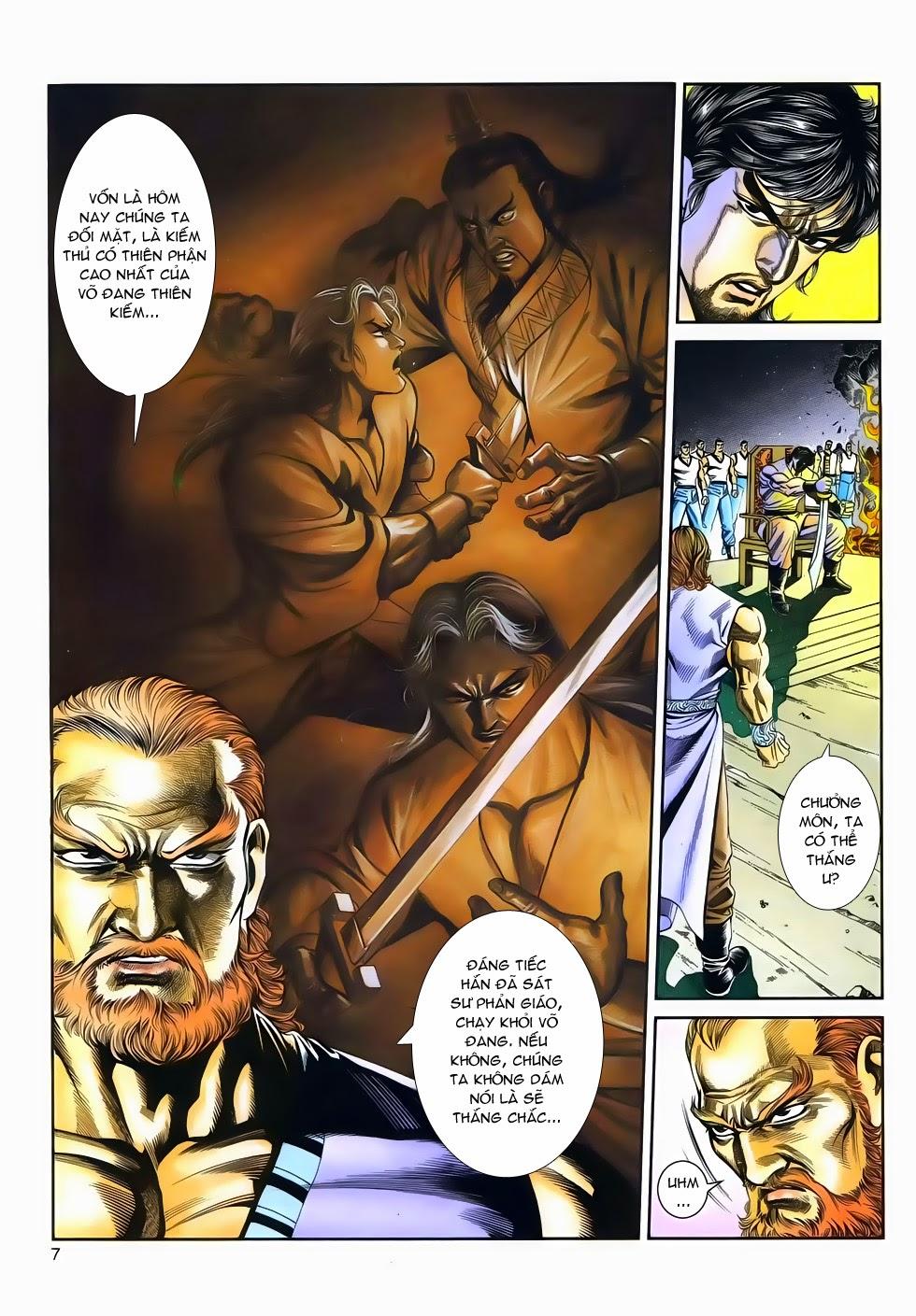 Long Hổ Phong Bạo chap 4 - Trang 6