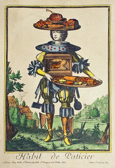Nicolas de Larmessin: The Florist (With images