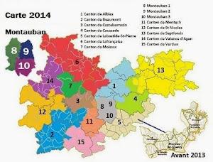 Cantons du Tarn et Garonne
