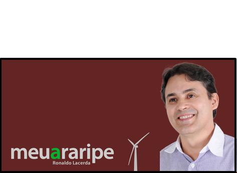 Editor Ronaldo Lacerda