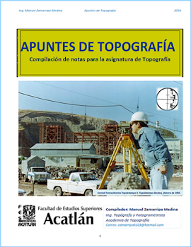 APUNTES DE TOPOGRAFÍA EDICIÓN 2016