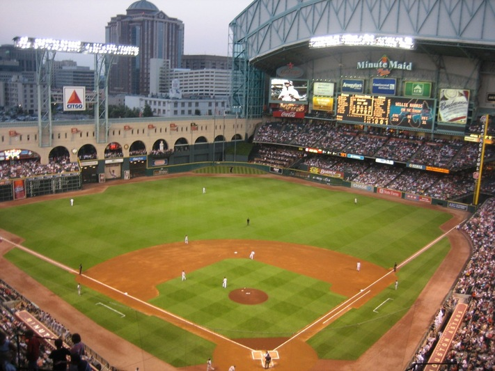 Dead Zones Astros Minute Maid Park Wi Fi Is Not Free