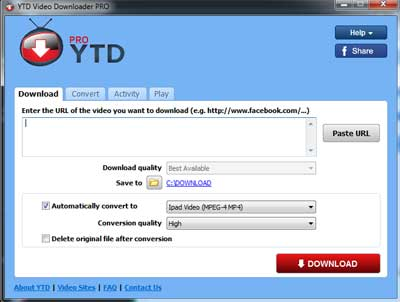 Youtube Downloader Pro 4.9.0.1  software yang berguna bila kalian ingin mendownload dari video di Youtube | www.blankon-ku.com