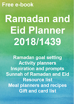 FREE Ramadan and Eid Planner 1439/2018