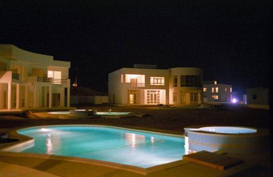 صور لبيت حسني مبارك الذي يسكنه الآن في شرم الشيخ - قصر خرافي علي شواطي البحر 2