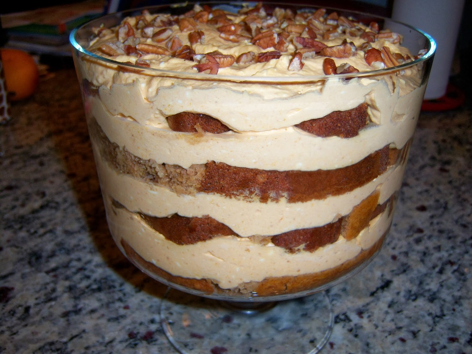 Pumpkin Trifle Recipe — Dishmaps