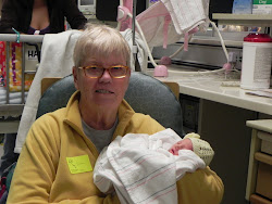 Grammy Sue & Reese in the NICU