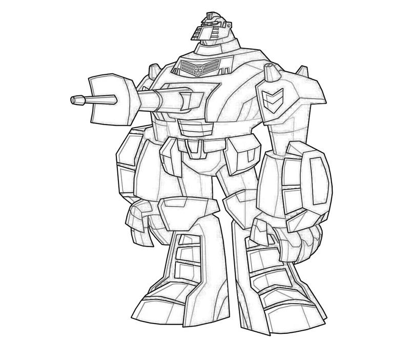 Transformers Animated Free Colouring Pages Transformers Animated Coloring Pages