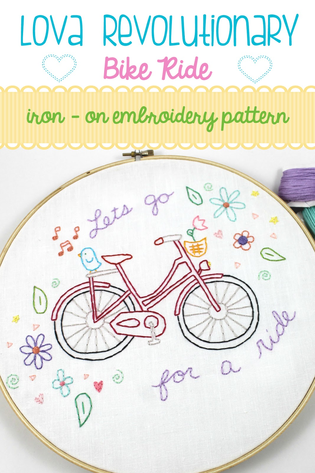 Lova Revolutionary Blog Iron On Embroidery Patterns Now Available