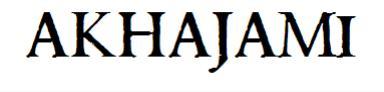 AKHAJAMI™ Blog's
