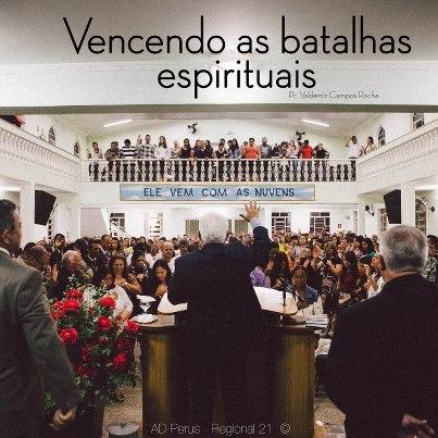 """seminario """"Vencendo as batalhas espirituais"""""""