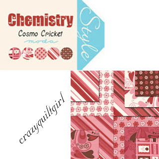 Moda CHEMISTRY Valentine's Day Fabric by Cosmo Cricket
